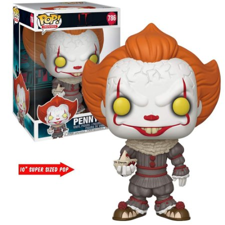 "Funko Pop It Chapter 2 Pennywise 10"" Super Sized 786"