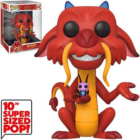 "Funko Pop Disney Mulan Mushu 10"" Super Sized 632"