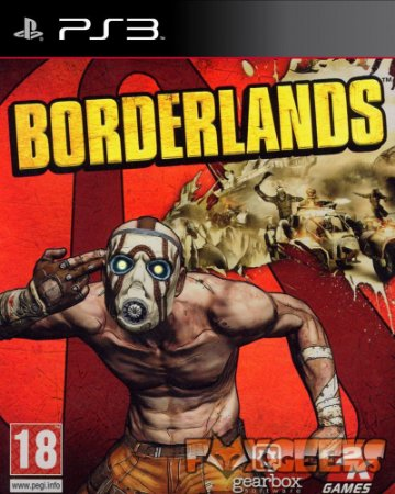 PS3 Borderlands [USADO]
