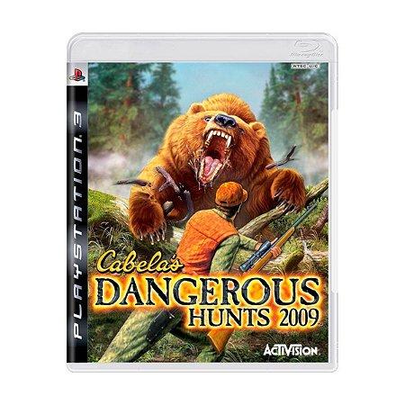 PS3 Cabela's Dangerous Hunts 2009 [USADO]