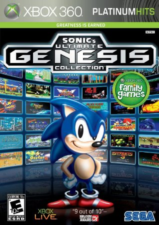 Xbox 360 Sonic's Ultimate Genesis Collection