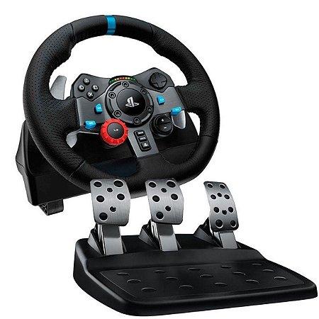 Volante Logitech Driving Force G29 [PS4, PS3 e PC]