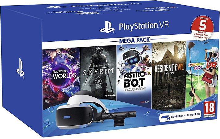 Playstation VR Bundle Mega Pack (5 jogos)