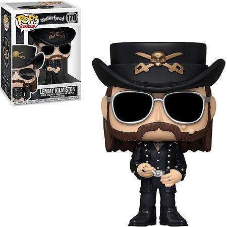 Funko Pop Motorhead Lemmy Kilmister 170