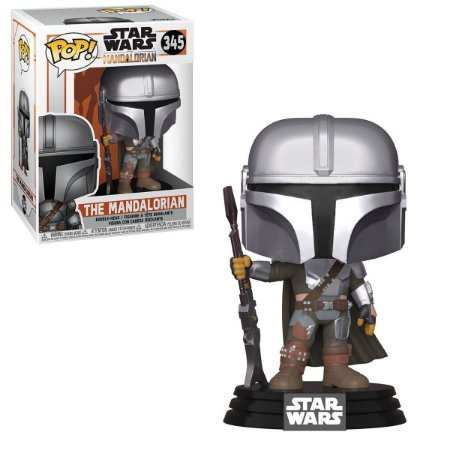 Funko Pop Star Wars Mandalorian The Mandalorian 345