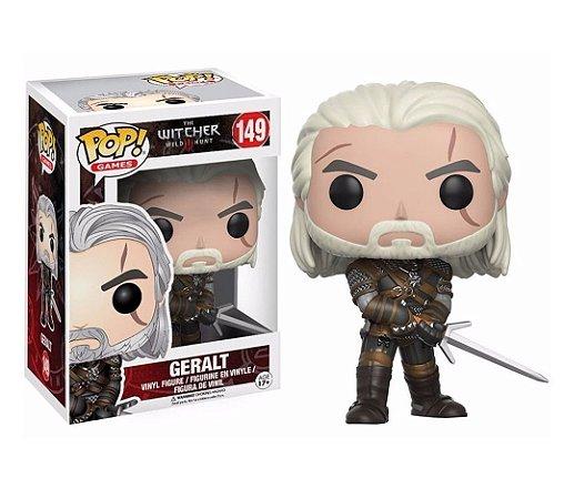 Funko Pop The Witcher Geralt 149