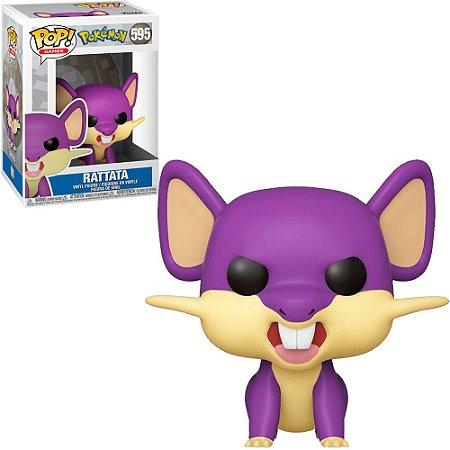 Funko Pop Pokémon S3 Ratata 595