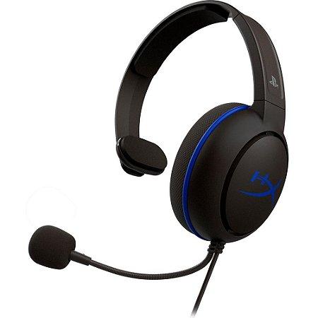 Headset Gamer HyperX Cloud Chat PS4 HX-HSCCHS-BK/AM