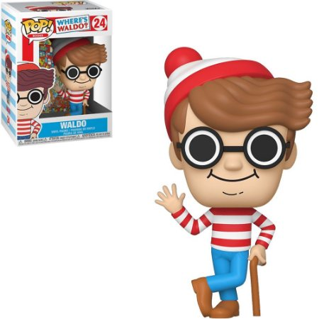 Funko Pop Wheres Waldo Aldo 24