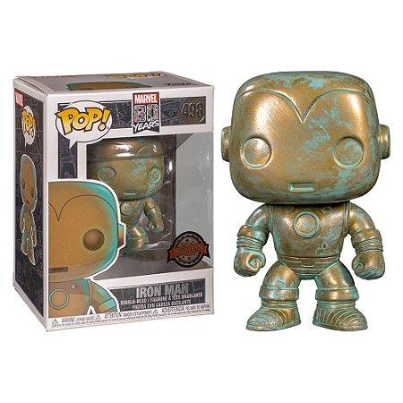 Funko Pop Marvel 80th Iron Man Patina 498