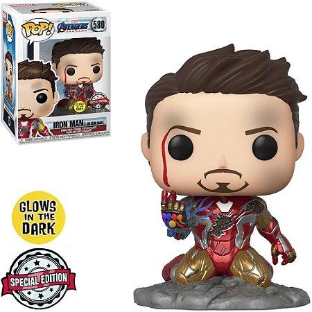 Funko Pop! Marvel: Avengers Endgame - I am Iron Man (Glows in the Dark) 580