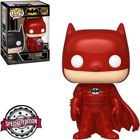 Funko Pop Heroes Batman 80th Batman Metallic Red 144