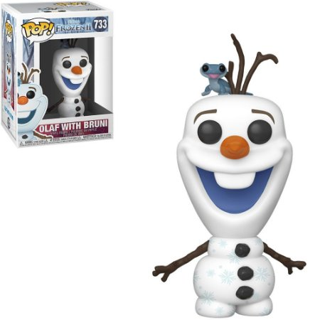 Funko Pop Disney Frozen II Olaf w/ Bruni 733