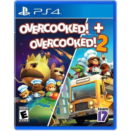 PS4 Overcooked! + Overcooked! 2