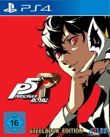 PS4 Persona 5 Royal Steelbook Edition