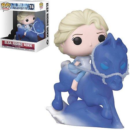 Funko Pop! Disney: Frozen II - Elsa Riding Nokk 74