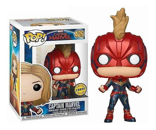 Funko Pop! Marvel: Captain Marvel - Captain Marvel Chase 425