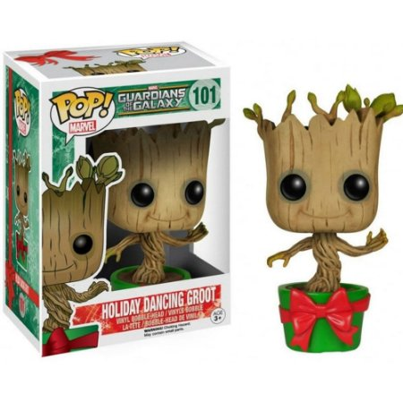 Funko Pop! Marvel: Guardians of the Galaxy - Holiday Dancing Groot 101