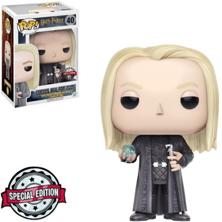 Funko Pop! Movies: Harry Potter - Lucius Malfoy w/ Prophecy 40