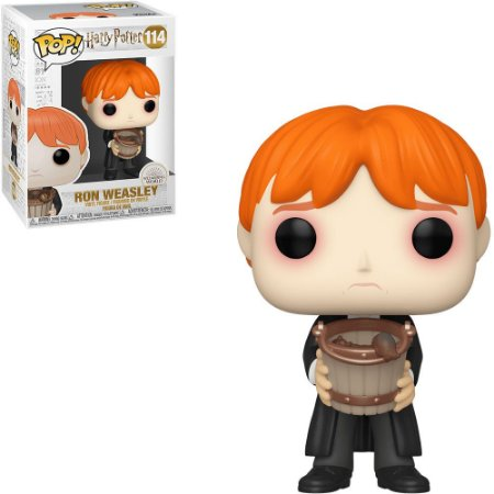 Funko Pop! Movies: Harry Potter - Ron Puking Slugs w/ Bucket 114