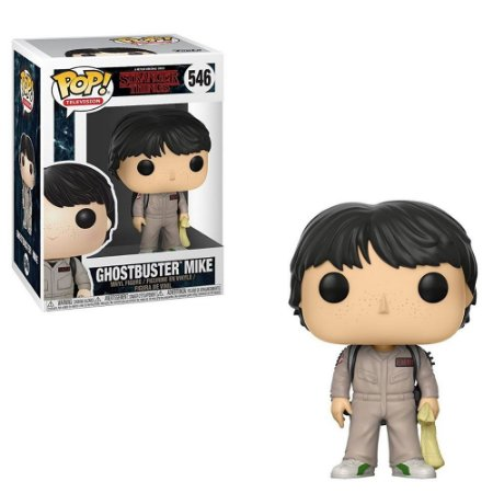 Funko Pop! Television: Stranger Things - Ghostbuster Mike 546