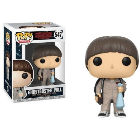 Funko Pop! Television: Stranger Things - Ghostbuster Will 547