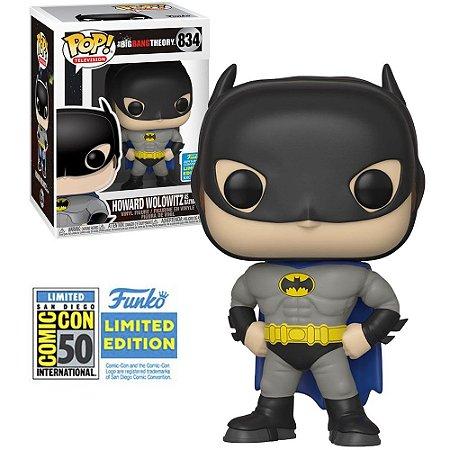 Funko Pop! Television: Big Bang Theory - Howard Wolowitz as Batman 834