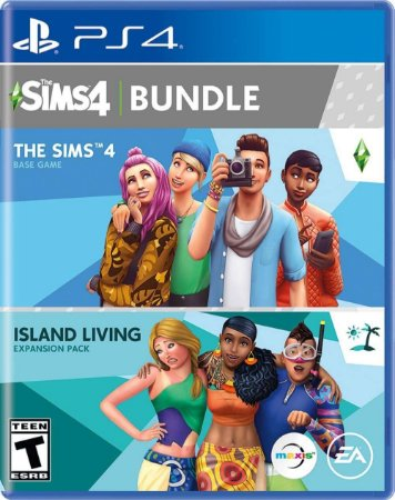 PS4 The Sims 4 + Island Living