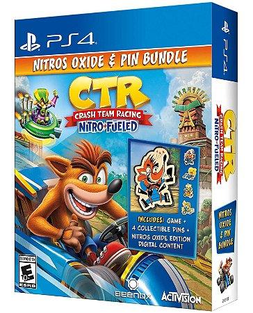 PS4 Crash Team Racing Nitros Oxide & Pin Bundle