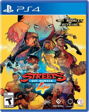 PS4 Streets Of Rage 4