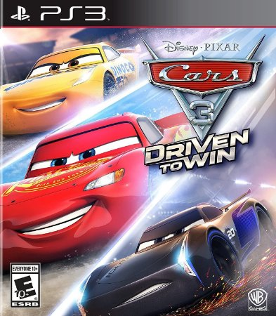 PS3 Cars 3 Driven To Win