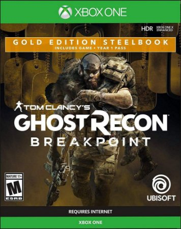 Xbox One Ghost Recon Breakpoint Gold Ed SteelBook