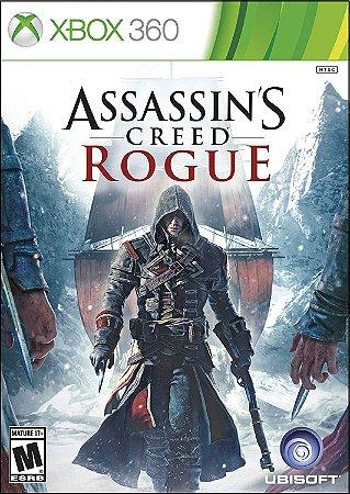 Xbox One e Xbox 360 Assassins Creed Rogue