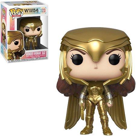 Funko Pop DC Comics: Wonder Woman 1984 - Wonder Woman Golden Armor 323