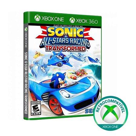Xbox 360 Sonic All-Stars Racing Transformed