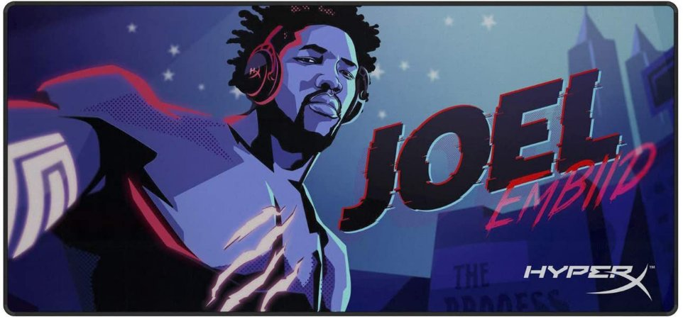 Mouse Pad HyperX Joel Embiid Limited Edition Fury S Speed Extra Grande HX-MPFS-XL-JEG