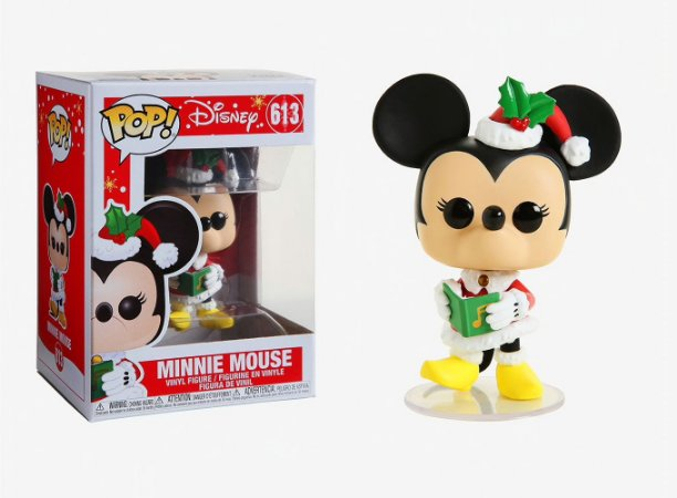 FUNKO POP DISNEY HOLIDAY MINNIE MOUSE 613