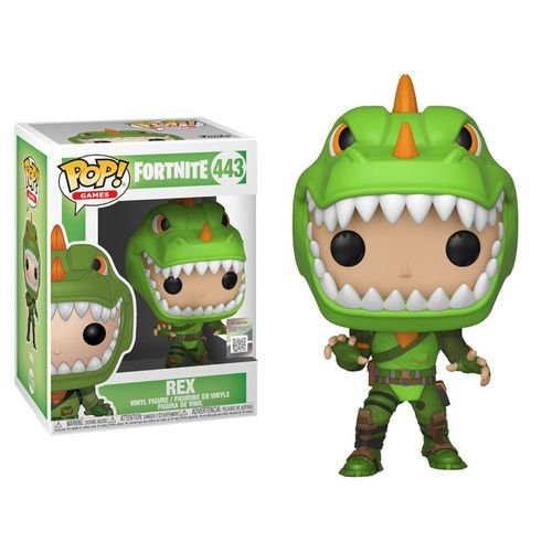 FUNKO POP FORTNITE REX 443