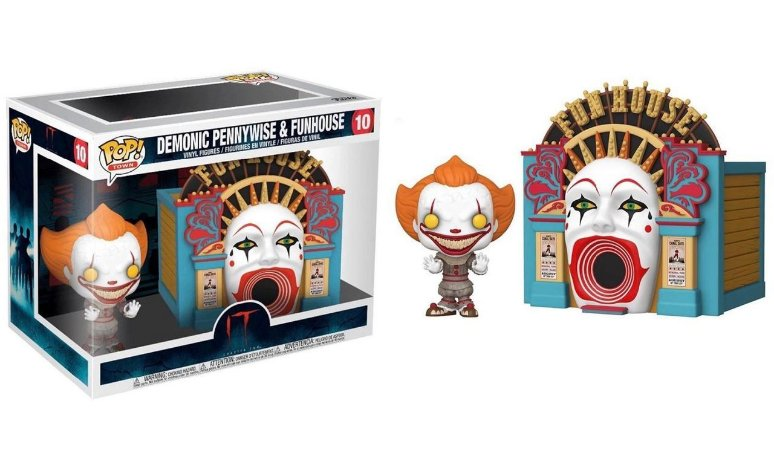 FUNKO POP IT CHAPTER 2 *TOWN* PENNYWISE DEMONIC & FUNHOUSE 10