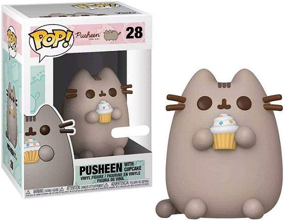 FUNKO POP PUSHEEN PUSHEEN W/CUPCAKE *EX* 28