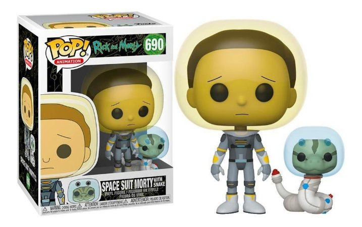 FUNKO POP RICK MORTY MORTY SPACE SUIT W/SNAKE 690
