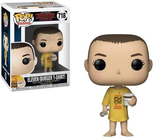 FUNKO POP STRANGER THINGS 6 ELEVEN BURGER T-SHIRT 718