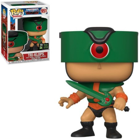 FUNKO POP TV MASTERS OF THE UNIVERSE TRI-KLOPS *COMIC CON EMERALD