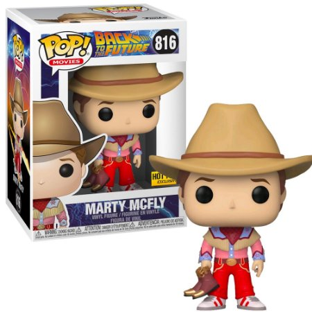 FUNKO POP BACK TO THE FUTURE MARTY MCFLY *EX* 816