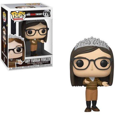 FUNKO POP BIG BANG THEORY 2 AMY FARRAH FOWLER 779