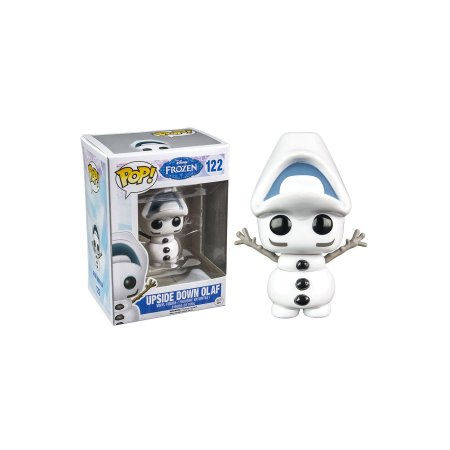 FUNKO POP DISNEY FROZEN OLAF UPSIDE DOWN *EX* 122