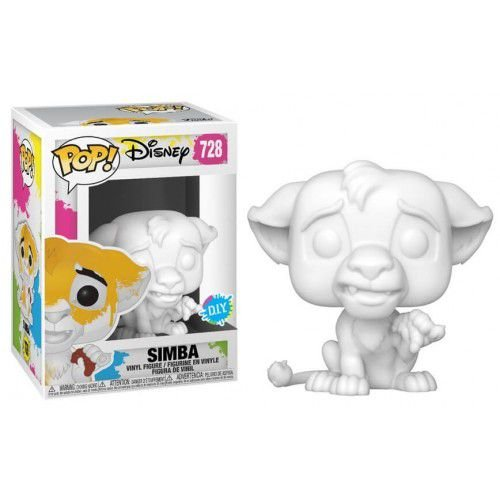 FUNKO POP DISNEY LION KING SIMBA *D.I.Y* 728