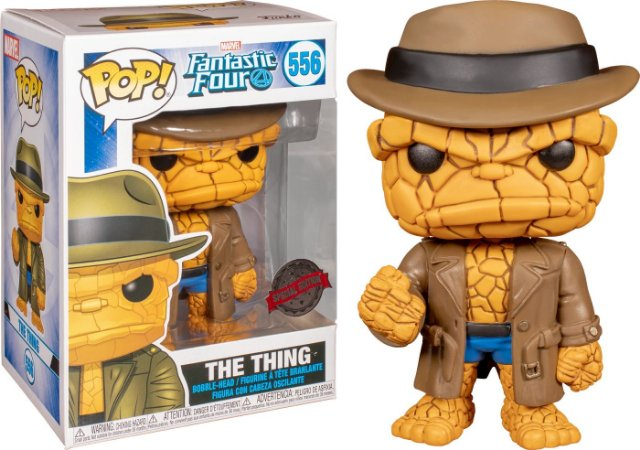 FUNKO POP MARVEL FANTASTIC FOUR 4 THE THING DISGUISED *EX* 556