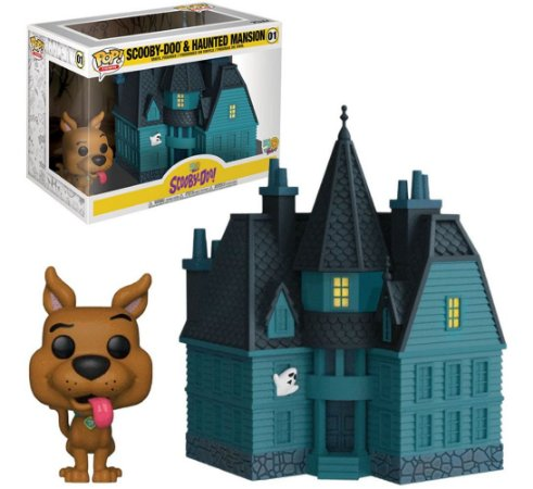 FUNKO POP SCOOBY-DOO 2 SCOOBY & HAUNTED MANSION 01
