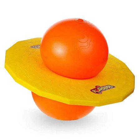 Pogobol amarelo e laranja - Estrela